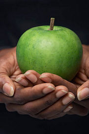 weight loss hypnosis, nice, crisp, fresh apple